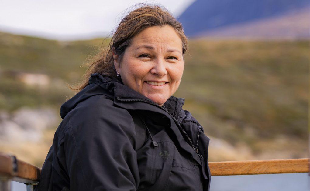Julia Pars stopper fredag som direktør for Visit Greenland, et job hun opsagde sidste efterår. Pressefoto: Visit Greenland.