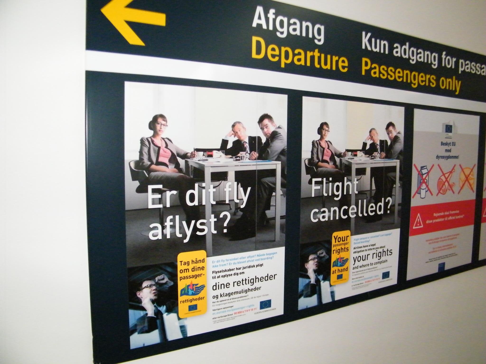 Der er forskel på flyselskaberne når det gælder tilbagebetalinger for annullerede flyrejser. Den europæiske rejsebureauforening at nogle flyselskaber er alt for lang tid om dette. Arkivfoto: Henrik Baumgarten.