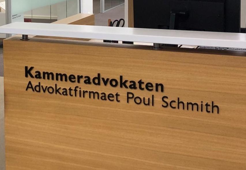 Advokatfirmaet Poul Schmidt har opgaven med at være statens advokat, Kammeradvokaten, der nu har undersøgt forløbet om kæmpekonkursen i Bravo Tours' moderselskab. Arkivfoto.
