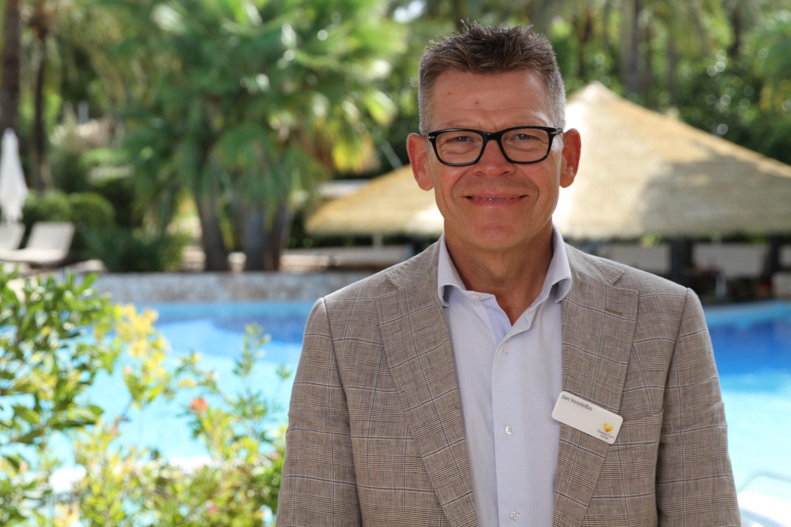 Jan Vendelbo, formand for charterarrangørernes brancheforening, RID, og til daglig administrerende direktør i Spies. Arkivpressefoto: Spies.