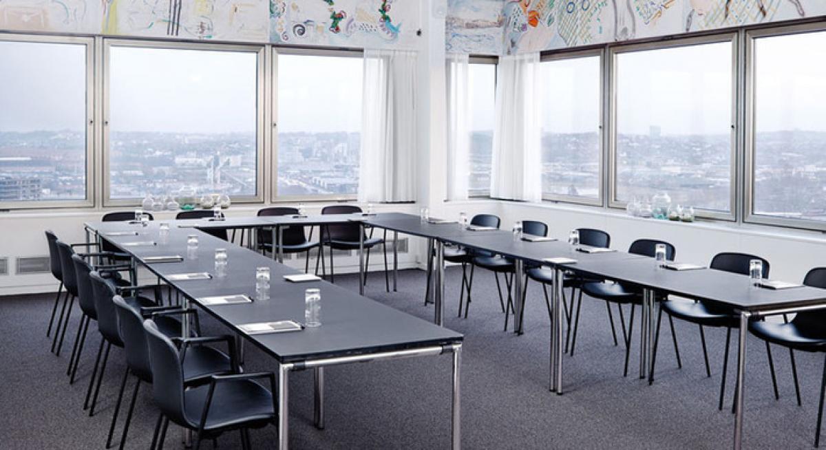 Staten og det offentlige køber under normale år møder og konferencer for cirka 240 millioner kroner. Nu er den nye SKI-konferenceaftale landet. Arkivfoto fra Comwell, der har 13 af de 105 eksterne leverandøraftaler.