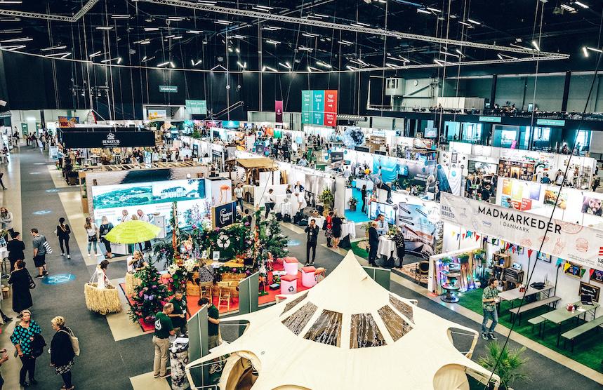 Møde & Eventmessen holdes i år kun over én dag. Messen regnes for Nordens største fagmesse for professionelle møde- og eventplanlæggere. PR-foto: Kursuslex.