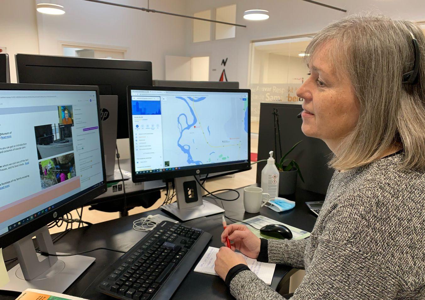 Jenny Ebbesen, head of innovation and product development, hos incomingbureauet Nordic Tours i Aarhus arbejder med nye produkter til grænserne genåbner. Foto: Nordic Tours.