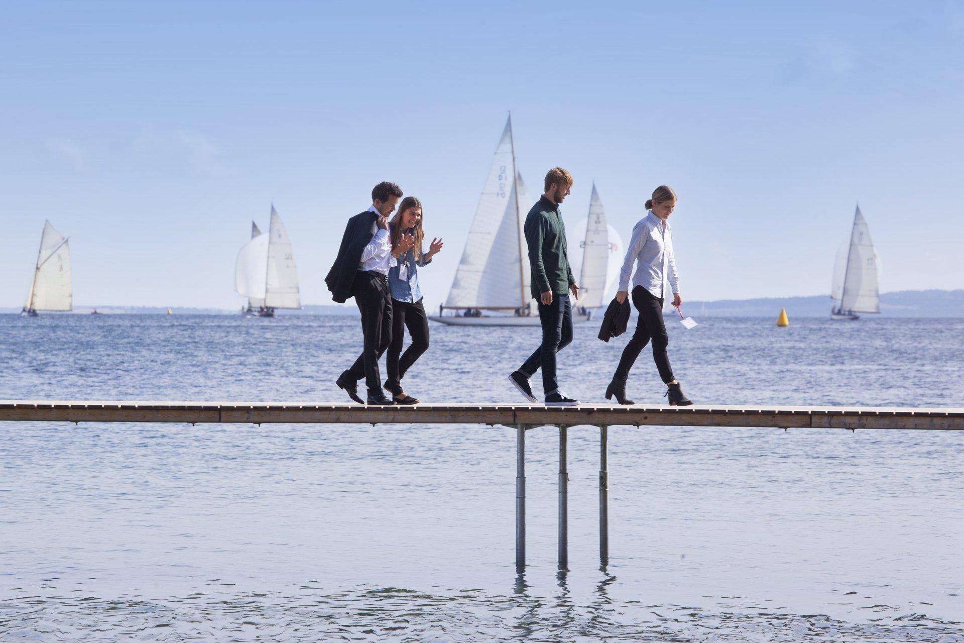 Der var sidste år 44,6 millioner målbare kommercielle turismeovernatninger i Danmark. Det var over 11 millioner færre sammenlignet med 2019. Arkivpressefoto fra VisitDenmark: Kim Wyon.