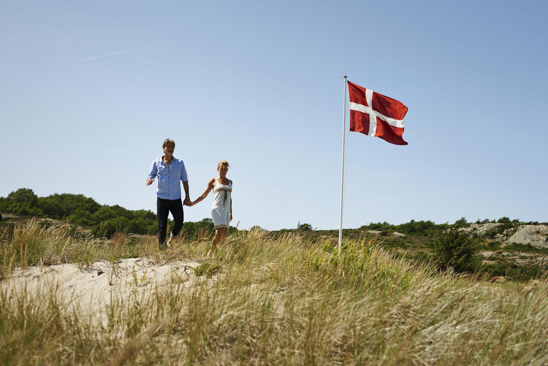 Bornholm har fire byer, Allinge, Gudhjem, Rønne og Nexø blandt de ti mest søgte rejsemål for danskerne, viser tal fra Booking.com – arkivpressefoto fra Bornholm fra VisitDenmark: Niclas Jessen.