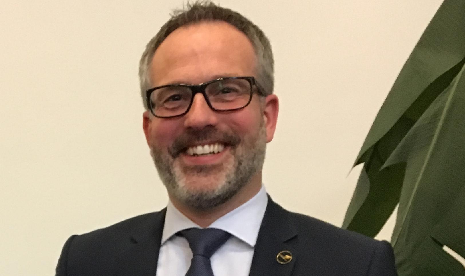 Christian Zahco, tidligere Key Account Manager hos Lufthansa Group. (Privatfoto)