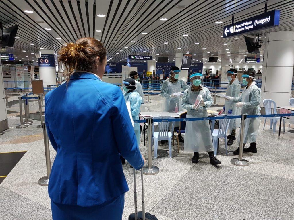Erhvervslivet venter også på at grænserne genåbnes og de internationale rejser kan genoptages. Arkivfoto: KLM.