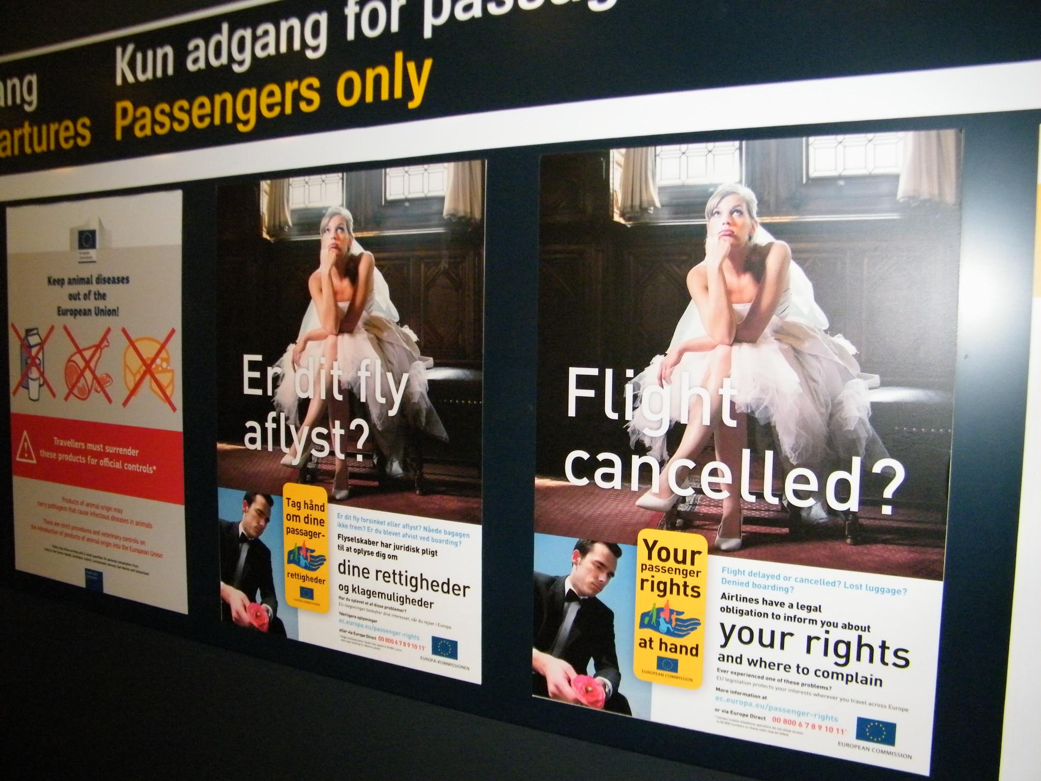 Over halvdelen af det samlede antal klager til Forbruger Europas danske kontor sidste år drejede sig om luftfart. Langt de fleste klager var om corona-relaterede flyaflysninger. Arkivfoto: Henrik Baumgarten.