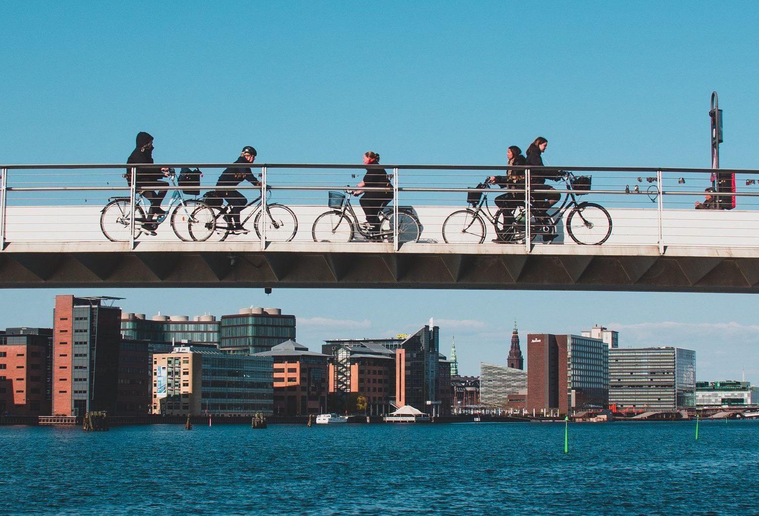 Danske Donkey Republic udlejer i dag 13.000 cykler i 60 europæiske byer. I 2024 forventer virksomheden at være nået op på 50.000 delecykler. Arkivpressefoto fra Wonderful Copenhagen: Daniel Rasmussen.