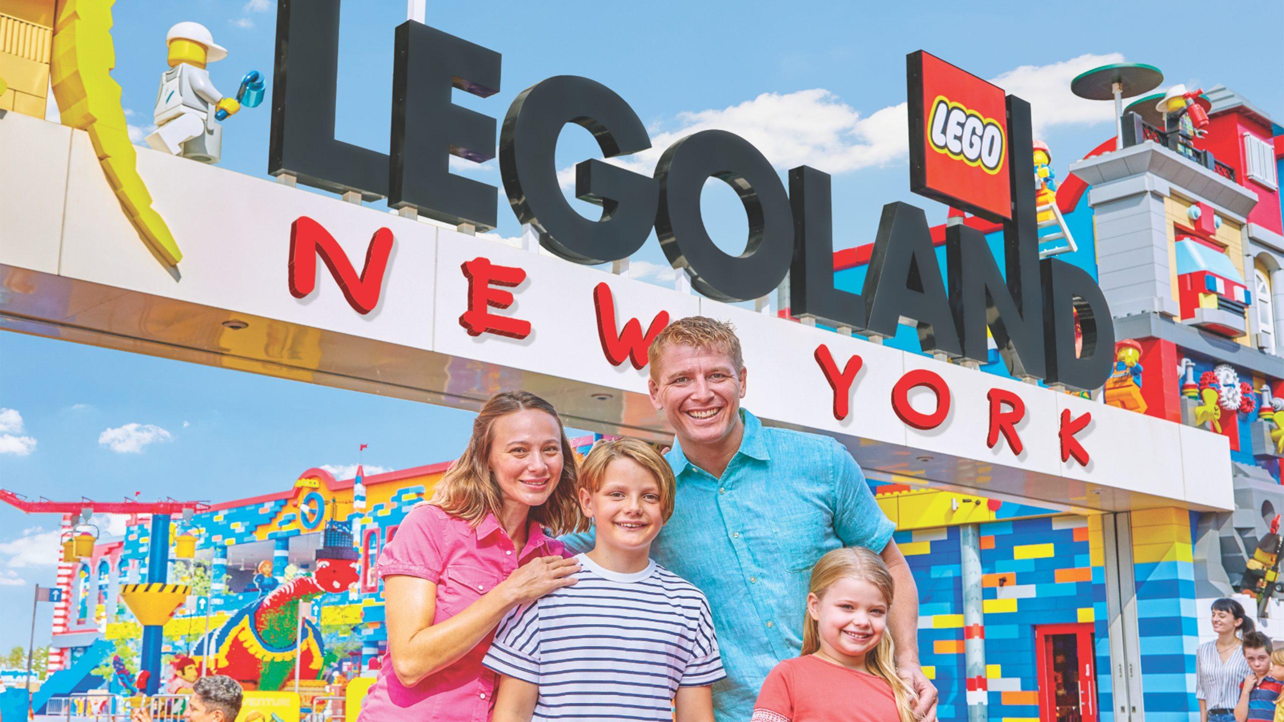 I løbet af sommeren, hvornår vides endnu ikke, åbner Legoland New York, cirka 100 kilometer fra selve New York City. Pressefoto: Legoland New York.