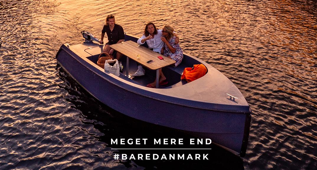 Reklame fra VisitDenmark nye kampagne for at danskerne holder ferie i Danmark.