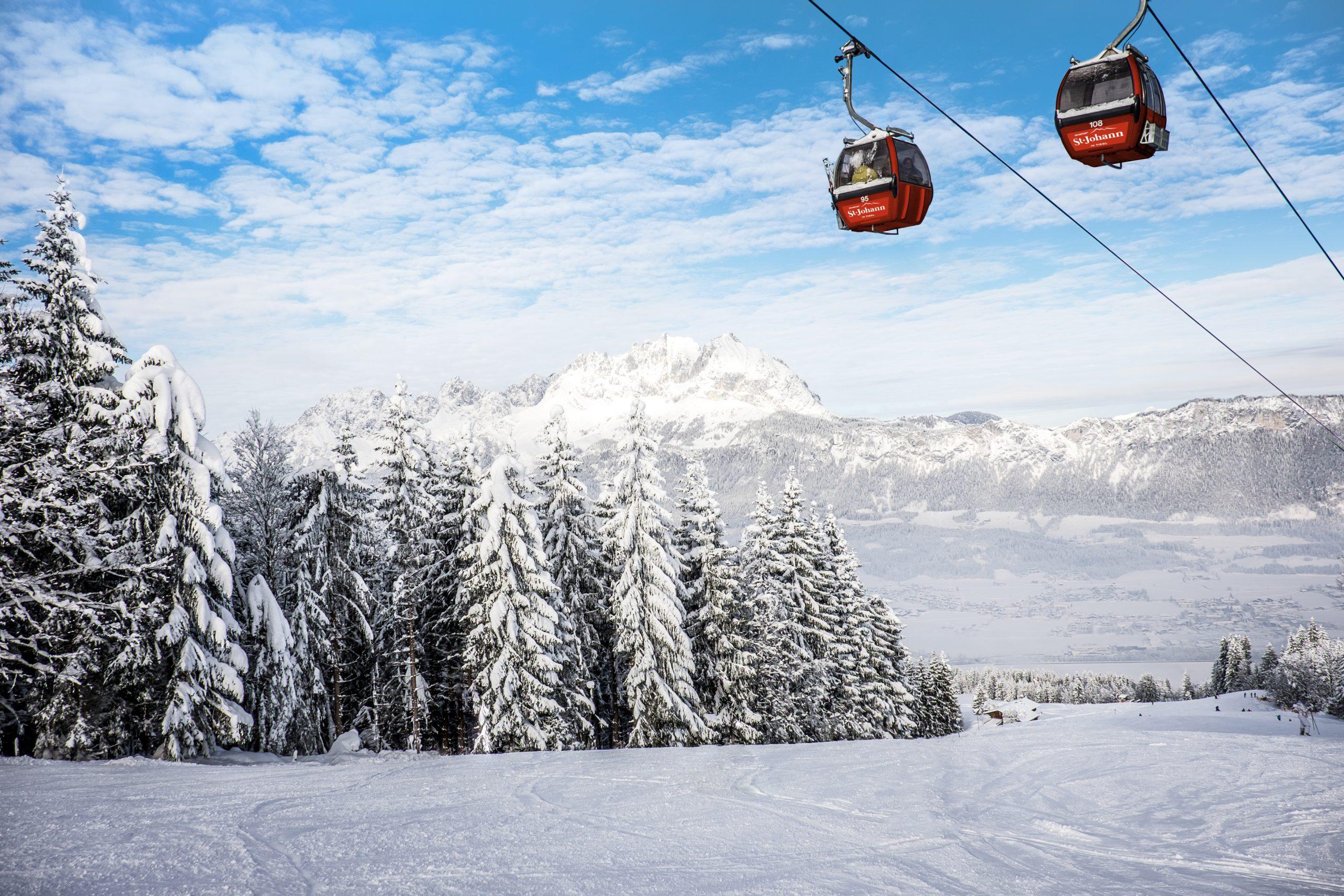 Skisportsanlæg i St. Johann i Tyrol. (Foto: Creative Commons/SkiStar)