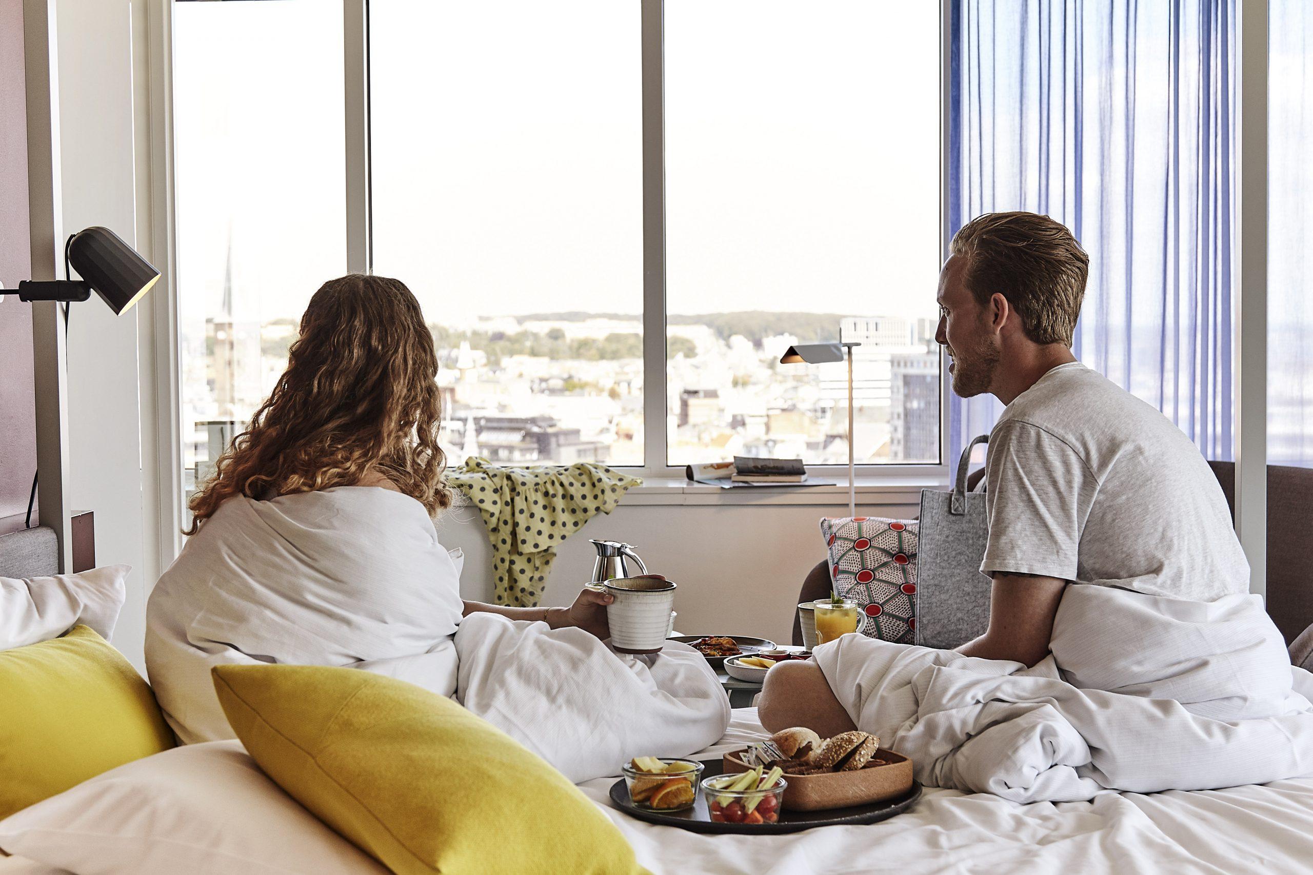 Comwell havde sidste år en gennemsnitlig belægning på 40 procent på sine danske hoteller. Coronakrisen betyder, at koncernen også forventer underskud her i 2021. Arkivpressefoto fra Comwell Hotels.