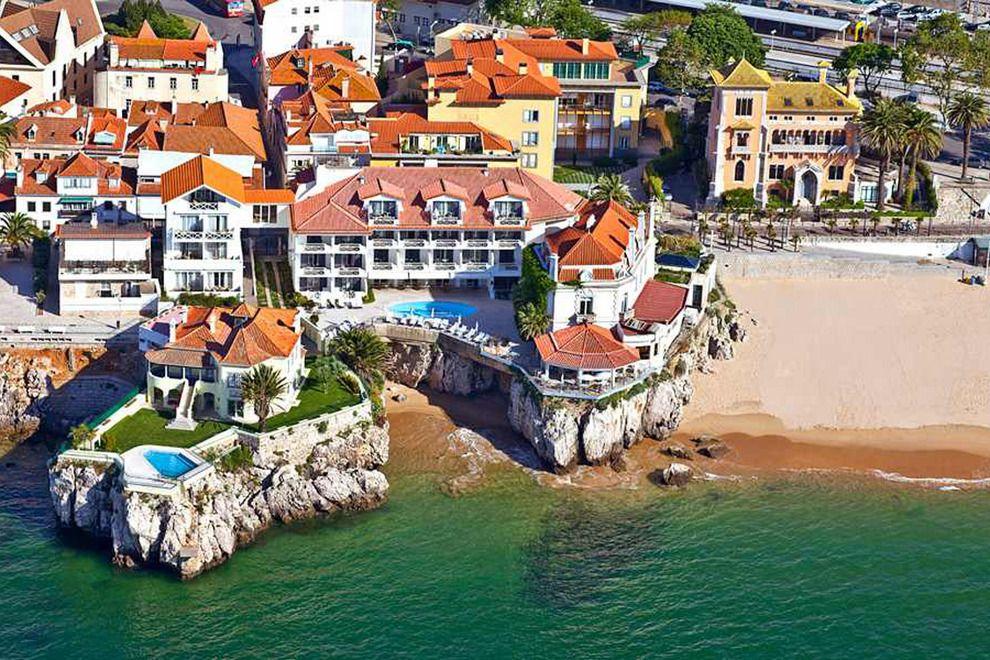Så er der atter åbent for at danske turister kan rejse til hele Portugal. Her er det Hotel Albatroz ved Cascais-området tæt på Lissabon. Pressefoto Hotel Albatroz Cascais.