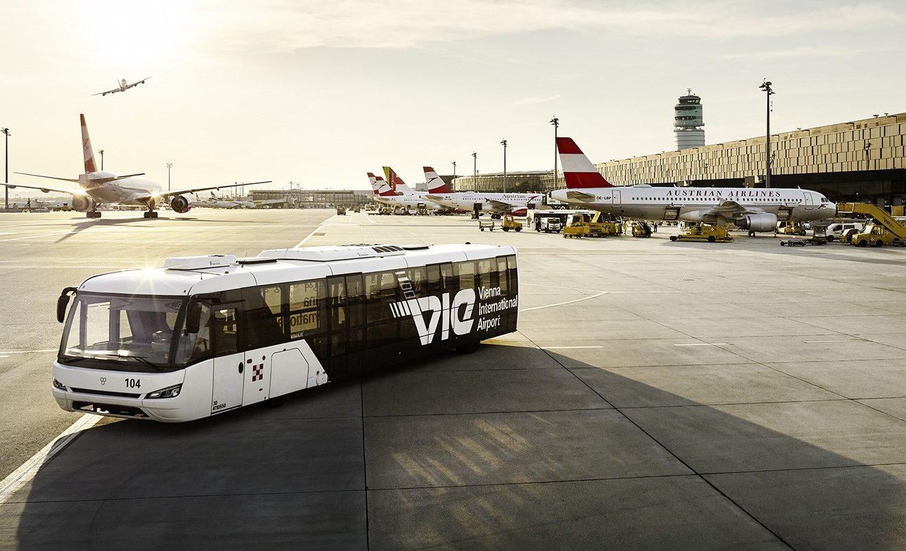 Østrig lukker på tirsdag, den 1. juni, igen for direkte flyvninger mellem Storbritannien og Østrig. Arkivpressefoto: Flughafen Wien.