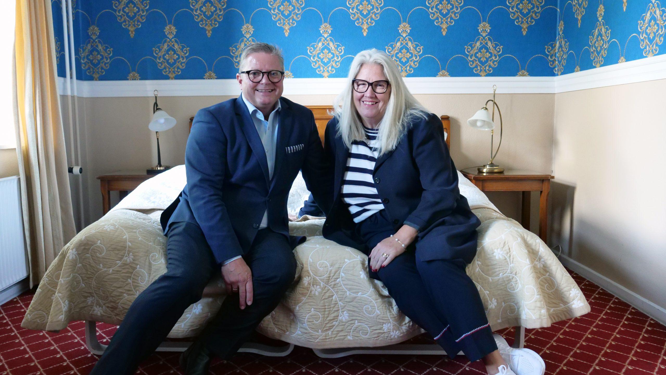 Dorte og Jan Milling var sidste år blandt de 21 modtagere af prisen Årets Ejerleder, der uddeles af PwC, Nykredit og Dansk Erhverv. PR-foto.