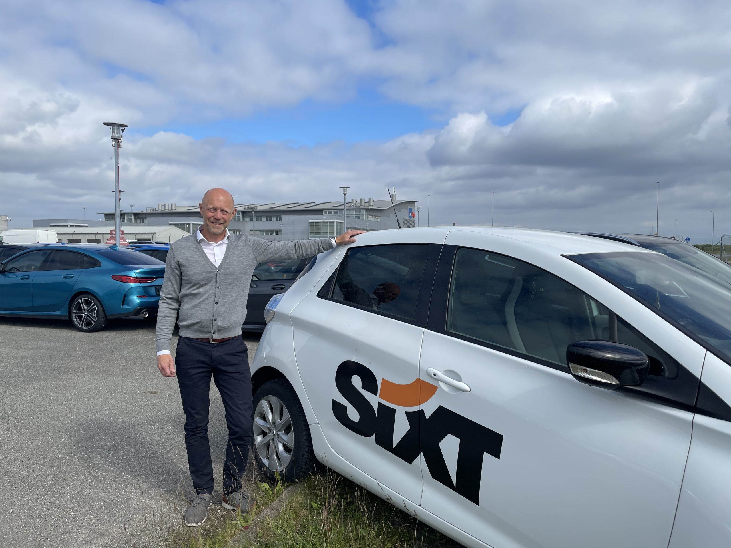 Frank Nordbjerg Olesen skal i sit nye job hos Sixt i Danmark arbejde med øget salg til firmakunder. Foto: Jonathan Stage.