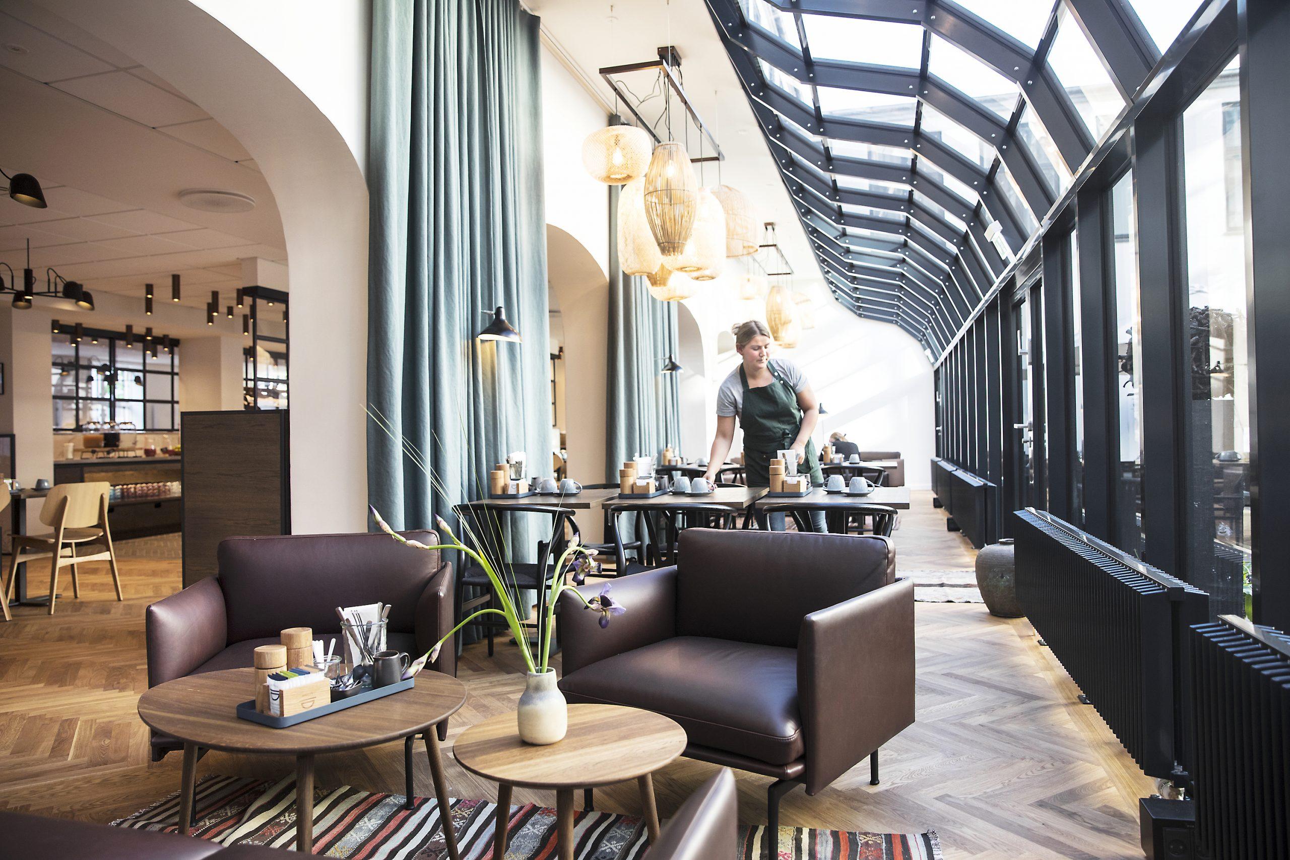 De to medlemmer af københavnske Arthur Hotels, selve Hotel Kong Arthur og naboen Ibsens Hotel havde sidste år en gennemsnitlig belægning på blot 30 procent. Arkivpressefoto fra Arthur Hotels.