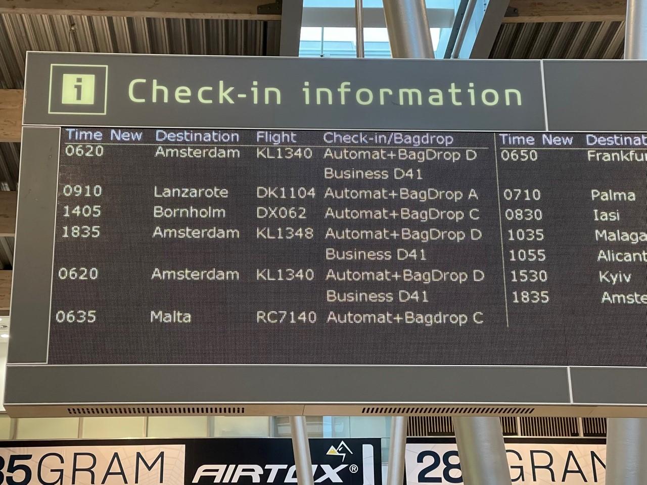 Også bestyrelsen for Rejsegarantifonden har fået ekstra travlt under coronakrisen. Det har mere end fordoblet udgifterne til honorering af bestyrelsens medlemmer, der blandt andet repræsenterer rejsebureau og luftfart. Arkivfoto.