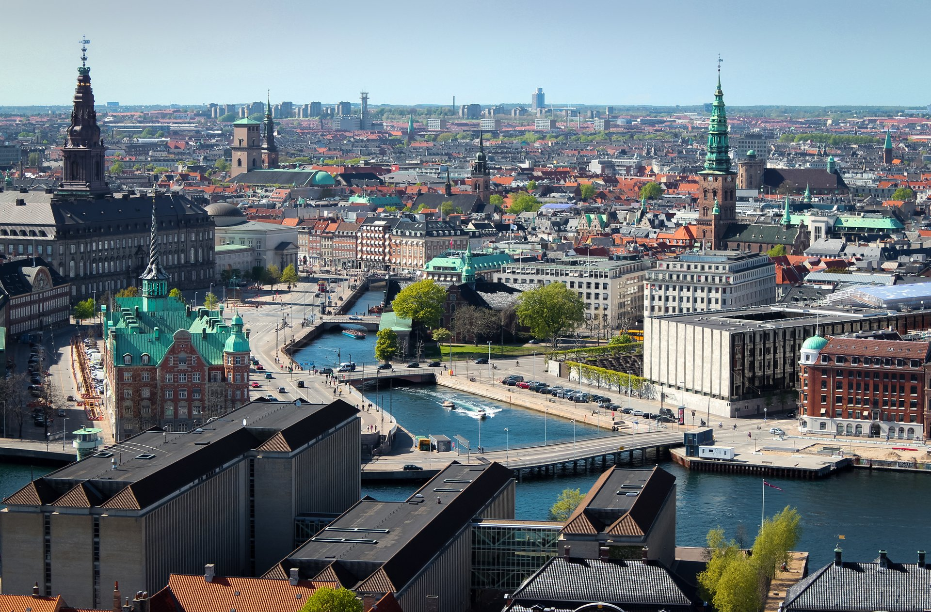 København set lidt fra oven. Hovedstaden bliver til november værtsby for OL-kongressen Smart Cities & Sport Summit. Pressefoto for Wonderful Copenhagen: Thomas Rousing.