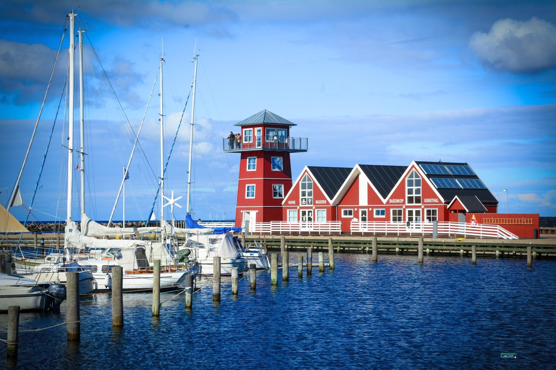 Udrejsecentret på det sydlige Langeland kan skade turismen på hele øen, siger destinationschef. Her foto fra netop Bagenkop. Wikipediafoto: Olaf Bork CC 4.0