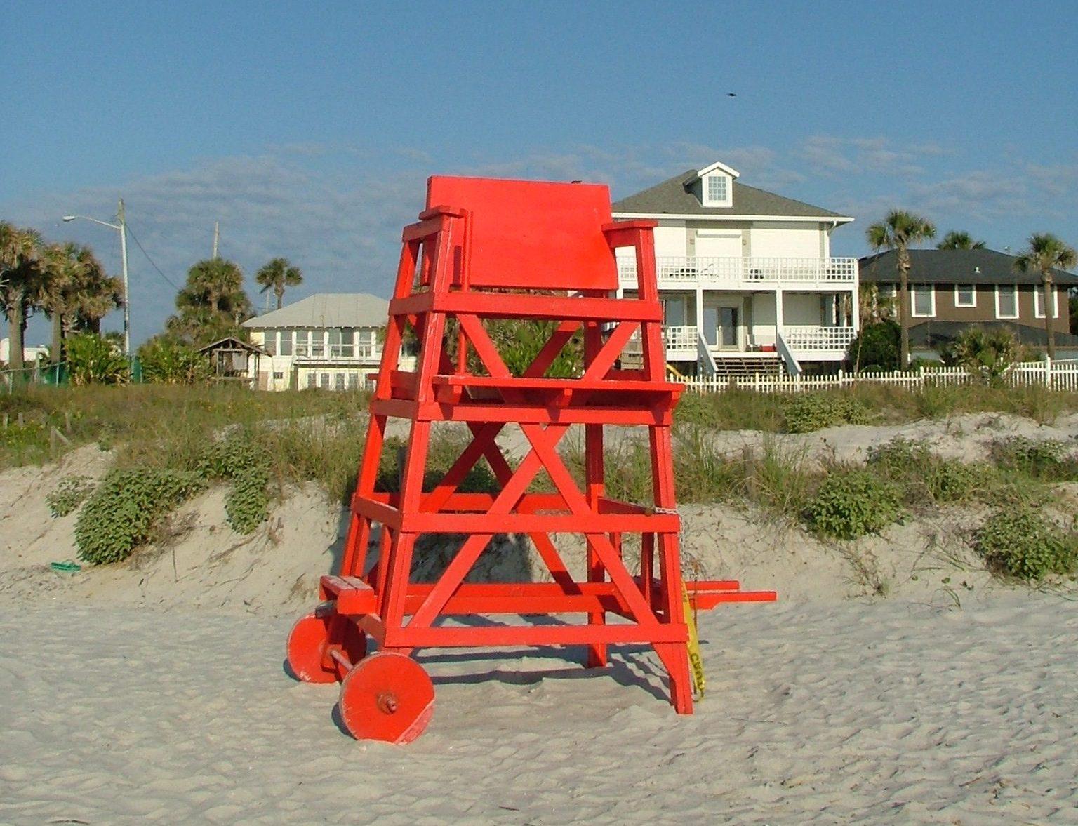 USA har siden marts sidste år nærmest været lukket land for blandt andet udenlandske turister. Nu kan en opblødning være på vej for færdigvaccinerede fra Schengenlandene. Arkivfoto fra strand i Florida: Henrik Baumgarten.
