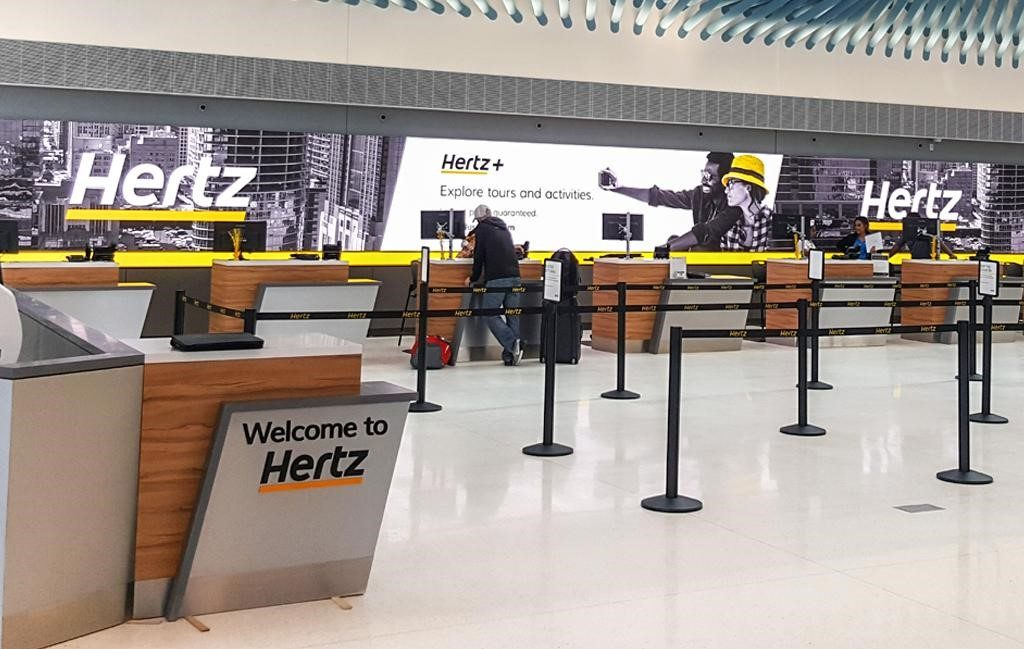 Hertz kan se frem til lysere tider efter at være kommet ud af sin kontrollerede betalingsstandsning. Samtidig vokser udlejningsmarkederne igen i blandt andet USA og Europa. Linkedinfoto fra Hertz Corporation.