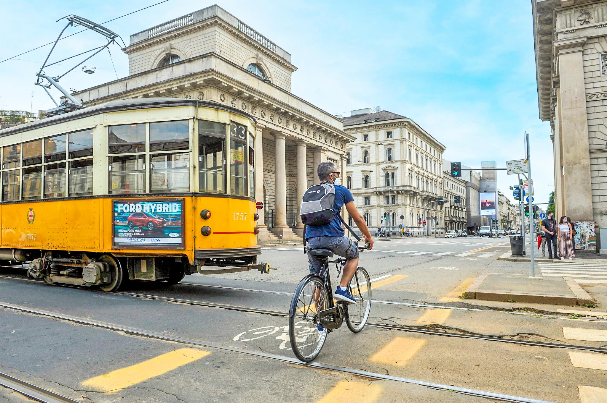 Turistrådet i Milano bruger brandet YesMilano til at trække nye besøgende, talenter og virksomheder til byen. Pressefoto fra YesMilano Milano&Partners.