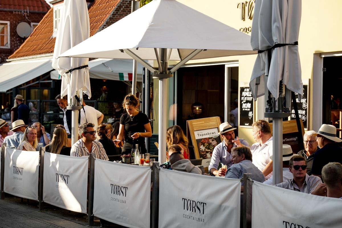 Skagen er et af Danmarks mest populære turistmål. Pressefoto fra den private turistforening Toppen af Danmark, der indtil tidligere på måneden hed Turisthus Nord. Foto: Peter Jørgensen.