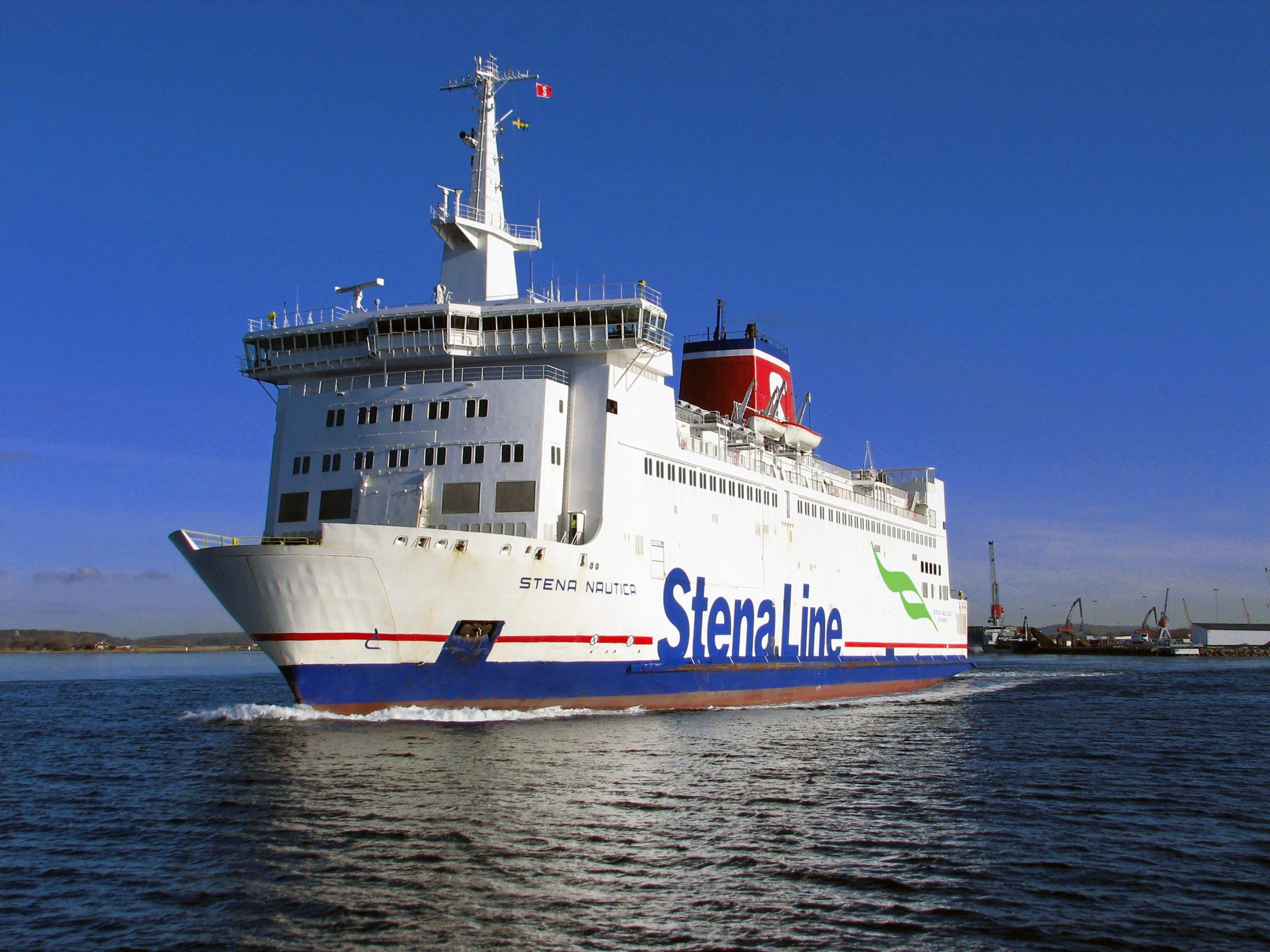 Ruten mellem Grenaa og Halmstad sejles af færgen Stena Nautica, der har næsten 30 ugentlige afgange. Pressefoto for Stena Line: Niklas Nolte.