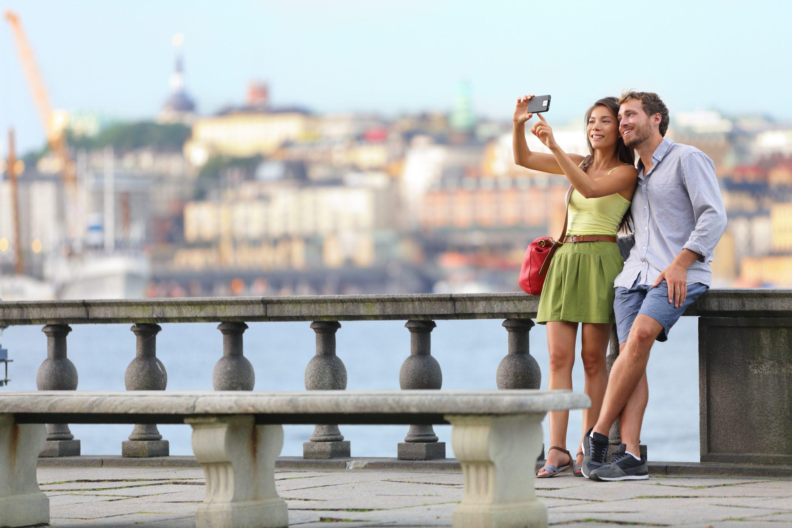 Efter Sverige var de seks lande som i år i uge 27-29 havde flest danske kunder fra teleselskabet 3 Tyskland, Italien, Spanien, Østrig, Frankrig og Grækenland. Pressefoto – fra Stockholm – leveret af teleselskabet 3.