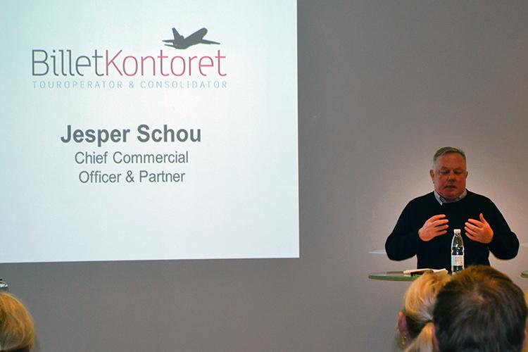 """""""IATA har nogle Simon Kollerup'er, personer der er sat til at styre, men som aldrig har prøvet noget sådant, og derfor ikke har en skid forstand på det,"""" siger Jesper Schou. Arkivfoto: PATA Danmark."""