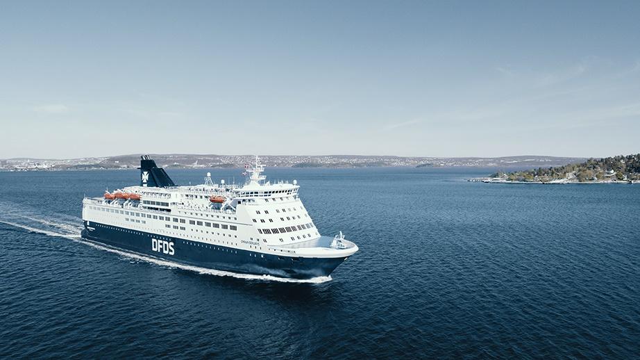 Crown Seaways er en af de to skibe på København-Frederikshavn-Oslo. (Foto: DFDS | PR)