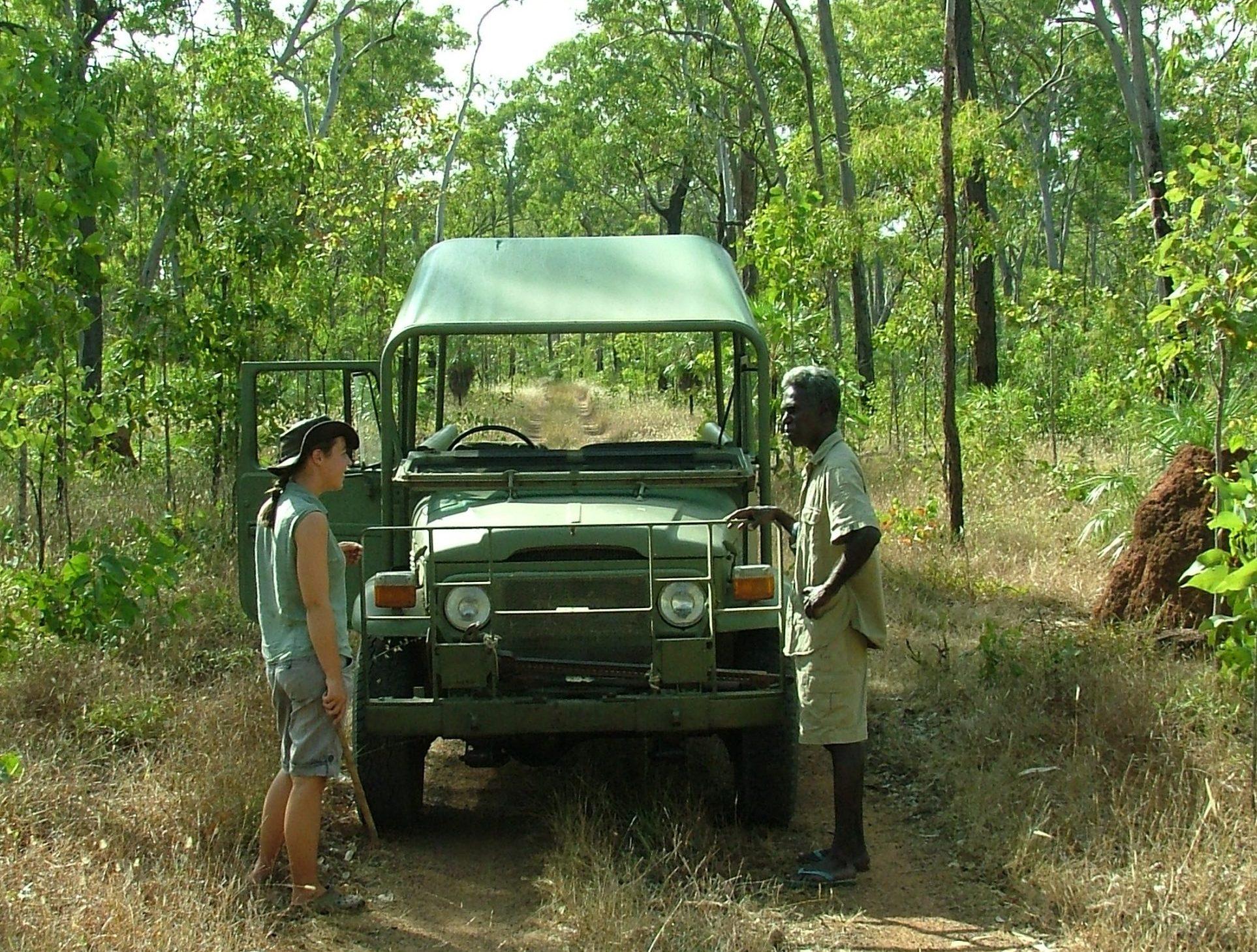 Australien forventes først at genåbne næste for udenlandske turister. Her er det guider fra Davidson's Arnhemland Safaris i outbacken i Northern Territory. Arkivfoto: Henrik Baumgarten.