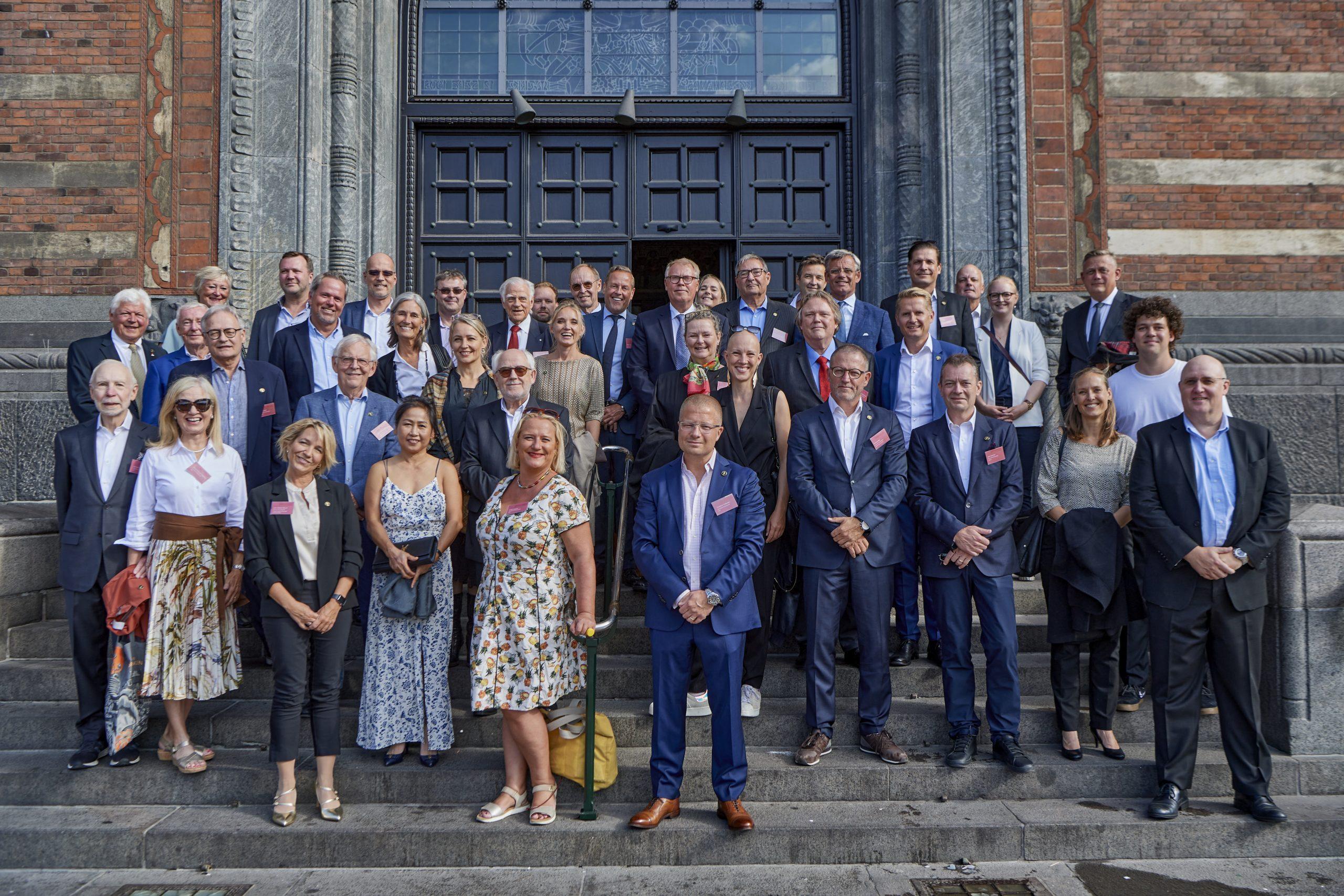 Wonderful Copenhagen og Copenhagen Capacity har atter samlet Københavns goodwill-ambassadører. Her fra besøg på Københavns Rådhus. Foto: Carsten Lundager for Wonderful Copenhagen.