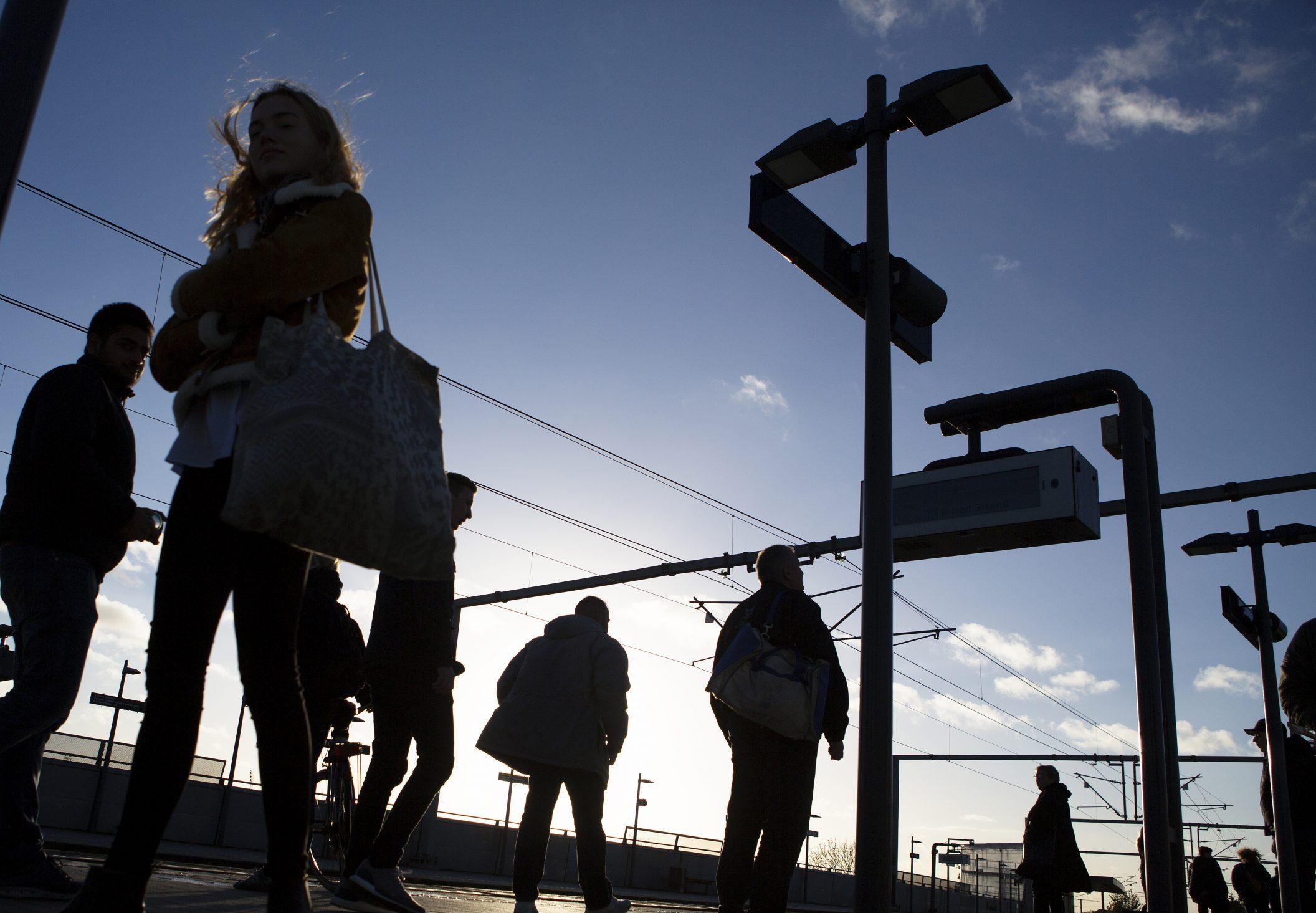 DSB havde i dette års andet kvartal 63 procent flere passagerer end i årets første kvartal, viser statsbanernes halvårsregnskab. Pressefoto for DSB: Klaus Holsting.