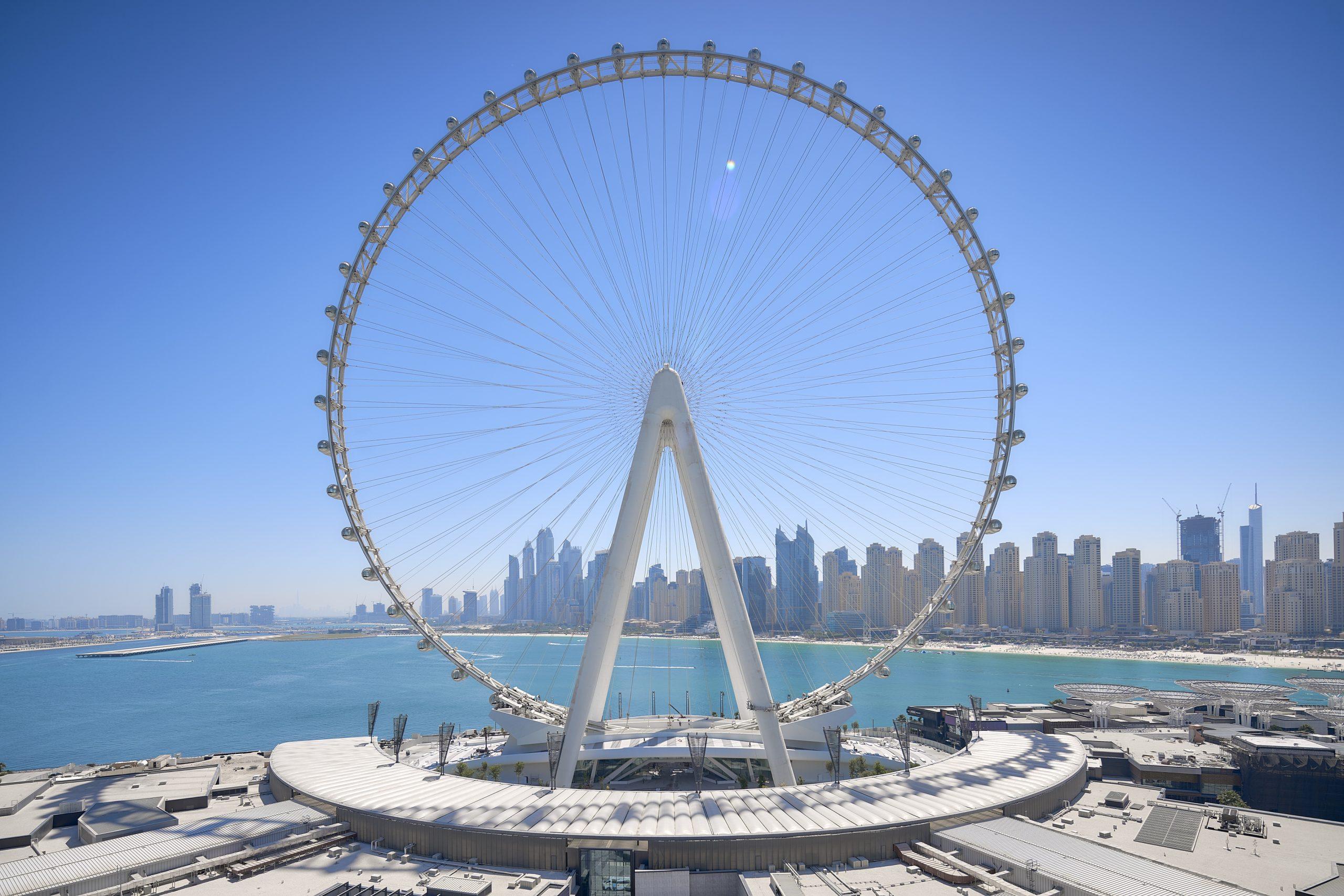 Dubai får snart verdens højeste og største pariserhjul, Ain Dubai. PR-foto.