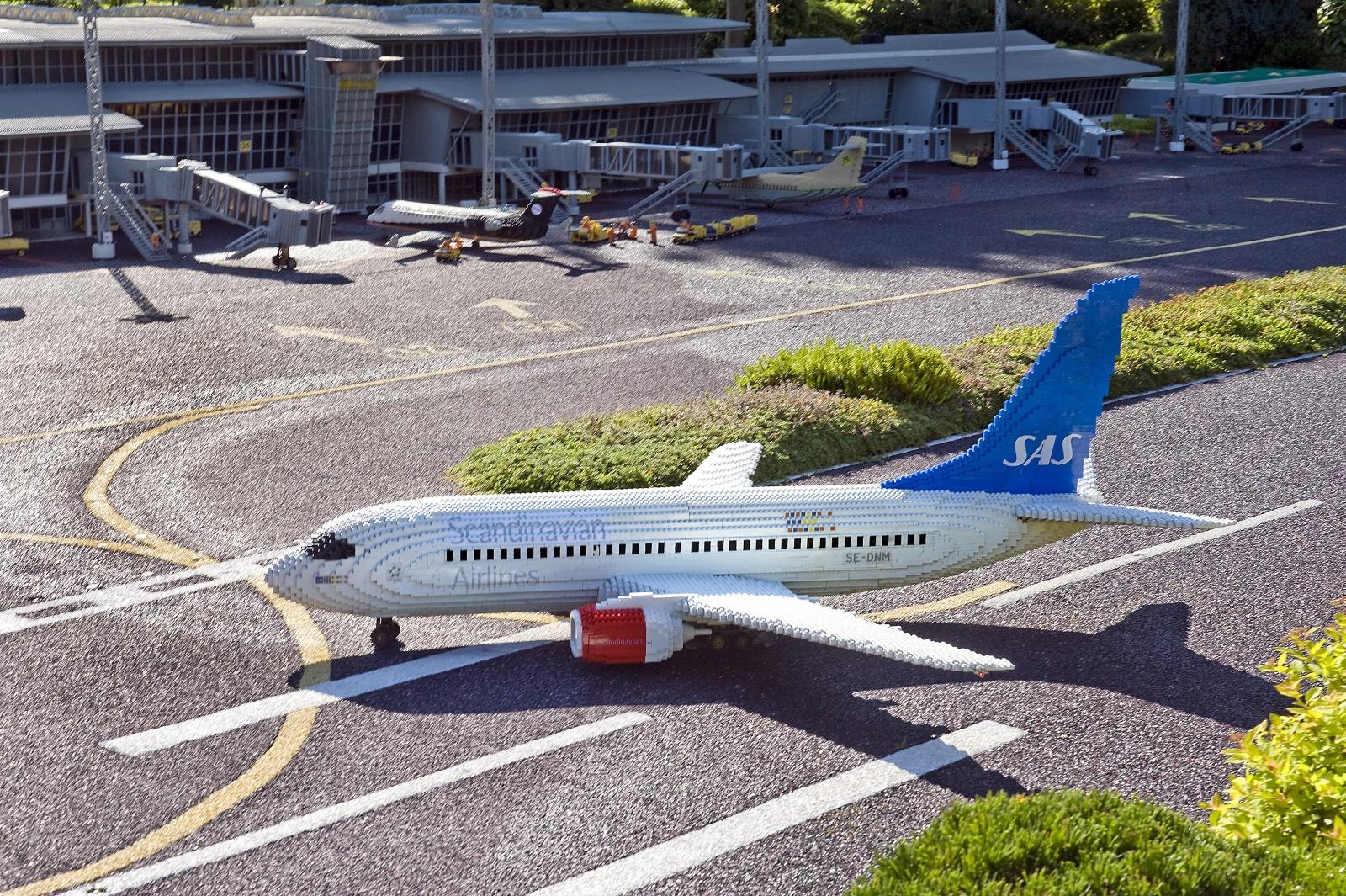 SAS-fly i Legoland. (Arkivfoto: SAS   PR)