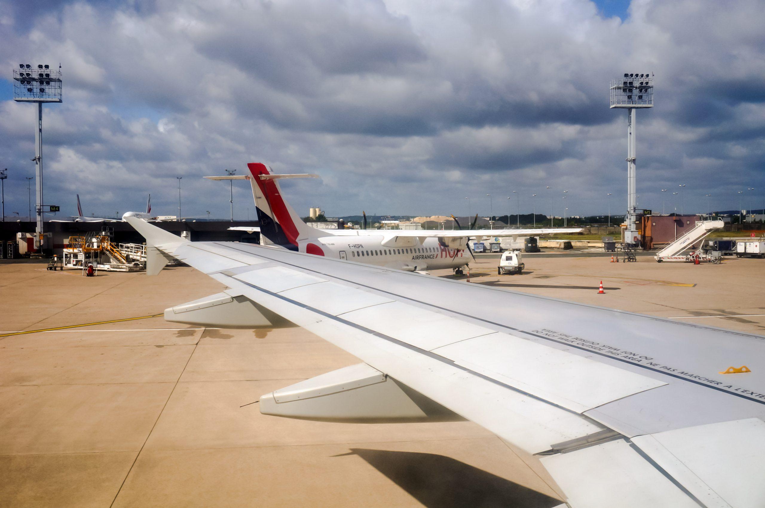 Franske indenrigsfly i Orly Airport. (Foto: S. Pech | shutterstock)
