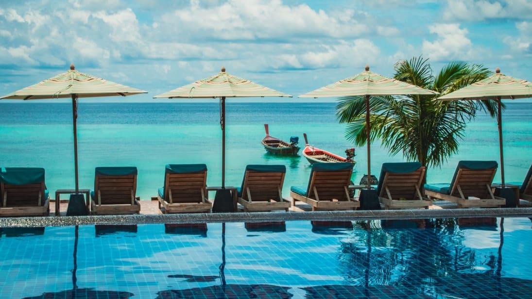TUI indsætter i januar og februar næste år tre direkte flyvninger fra Billund Lufthavn til Phuket og Krabi i Thailand. Pressefoto: TUI.