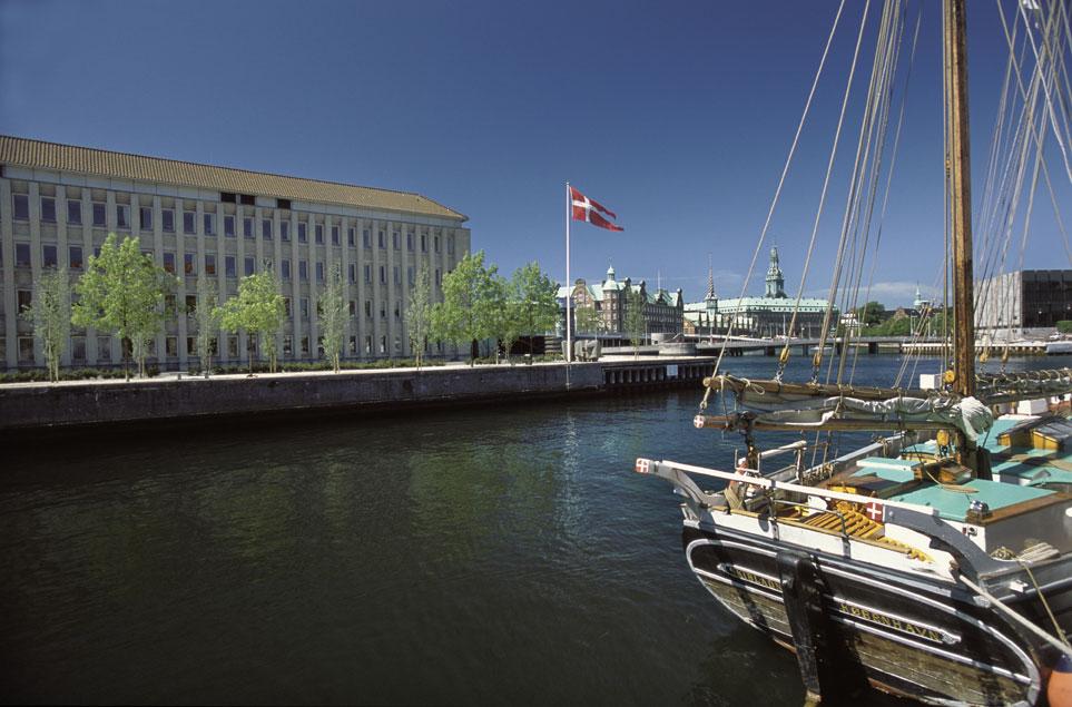 Billede af Udenrigsministeriet i København. Foto: Udenrigsministeriet
