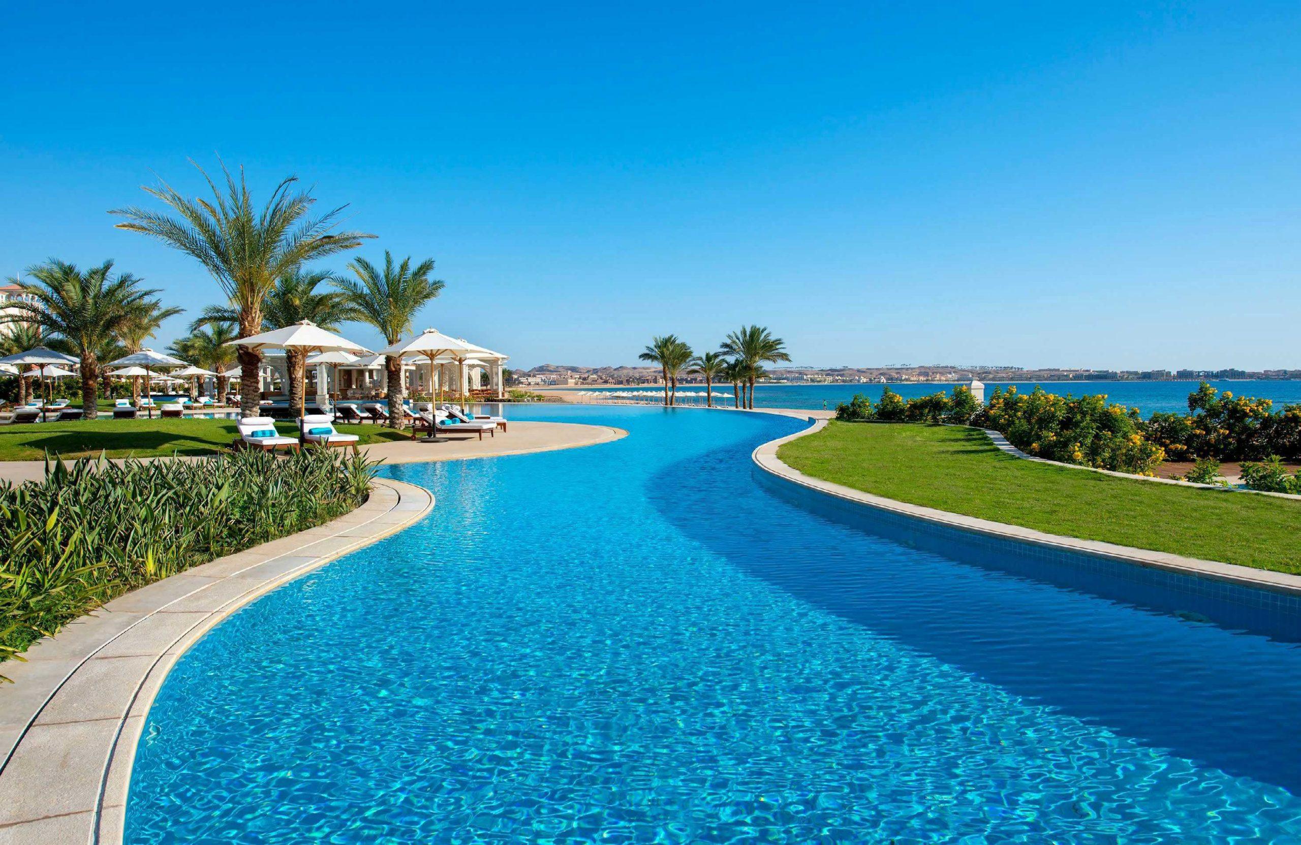 TUI begynder fra starten af oktober igen at betjene Hurghada i Egypten. Det er første gang, TUI i Danmark igen har charterfly til en destination uden for Europa siden starten af coronakrisen. Pressefoto TUI Danmark.