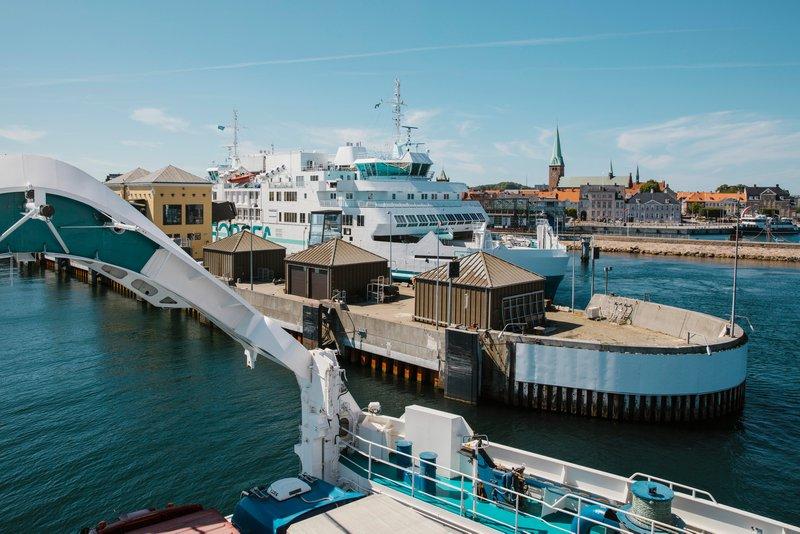 I 2019 transporterede ForSea 1,3 millioner personbiler, 440.000 lastbiler og 16.000 busser. Det svarer til 20 procent af de køretøjer, der passerede Øresund via enten ForSea eller Øresundsbron. Pressefoto: ForSea.