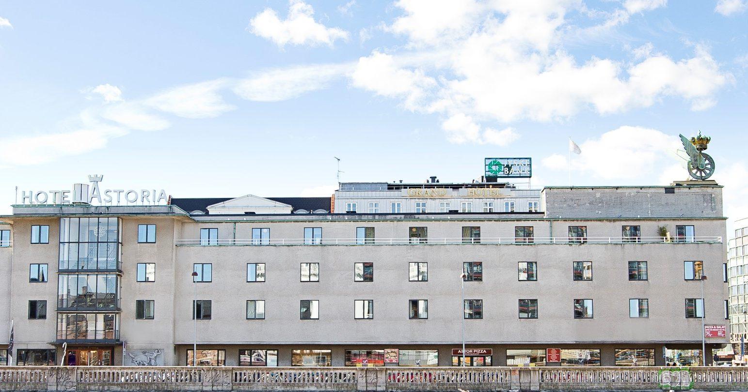 Astoria-hotellet ved Hovedbanegården i København skal nu drives af en norsk hotelkæde. Arkivpressefoto.