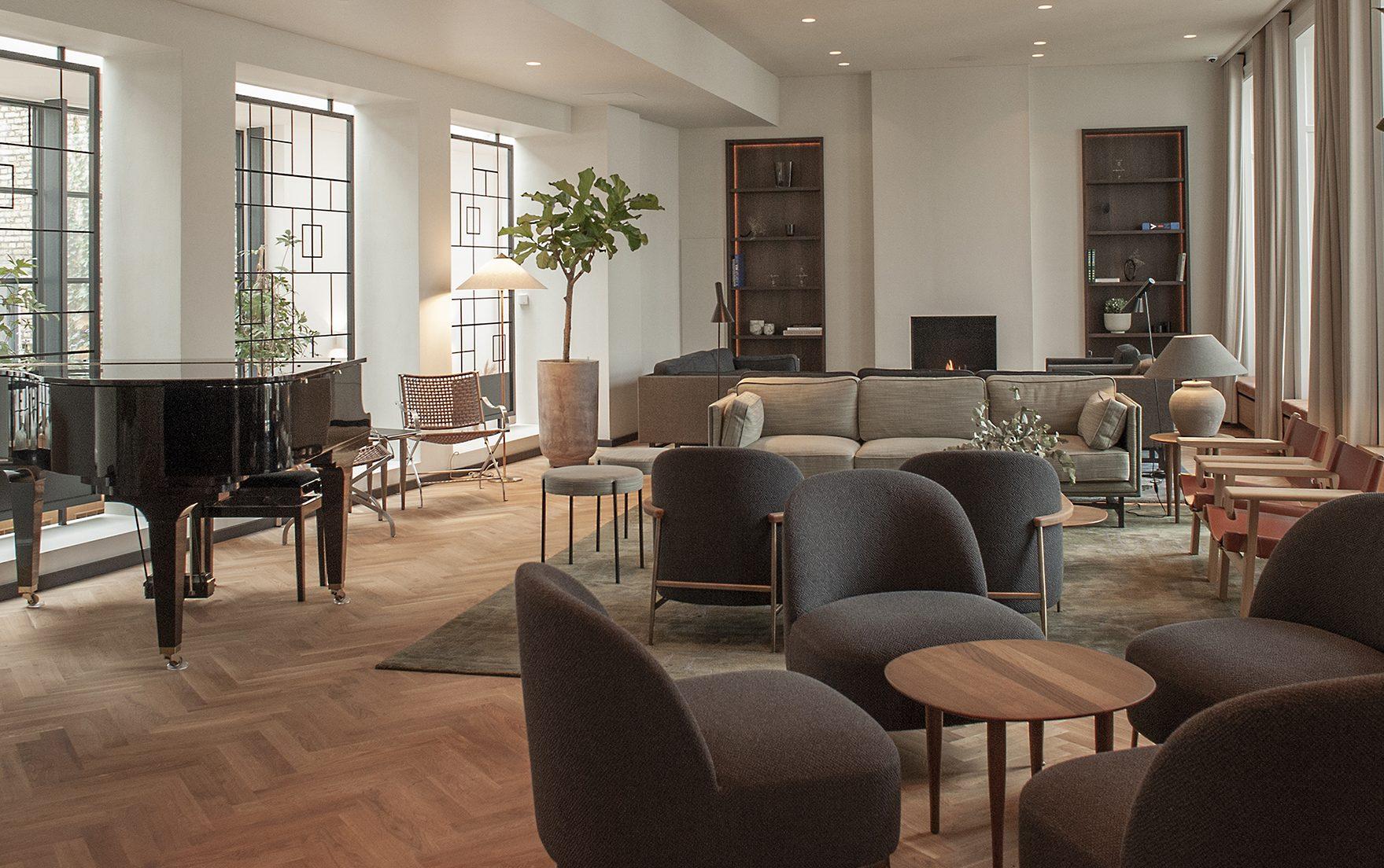 """Hotel Kong Arthur i København fremstår efter sin omfattende renovering som et """"nyt hotel og indbegrebet af et rigtigt københavnerhotel med klassisk dansk design."""" Pressefoto fra Hotel Kong Arthur."""