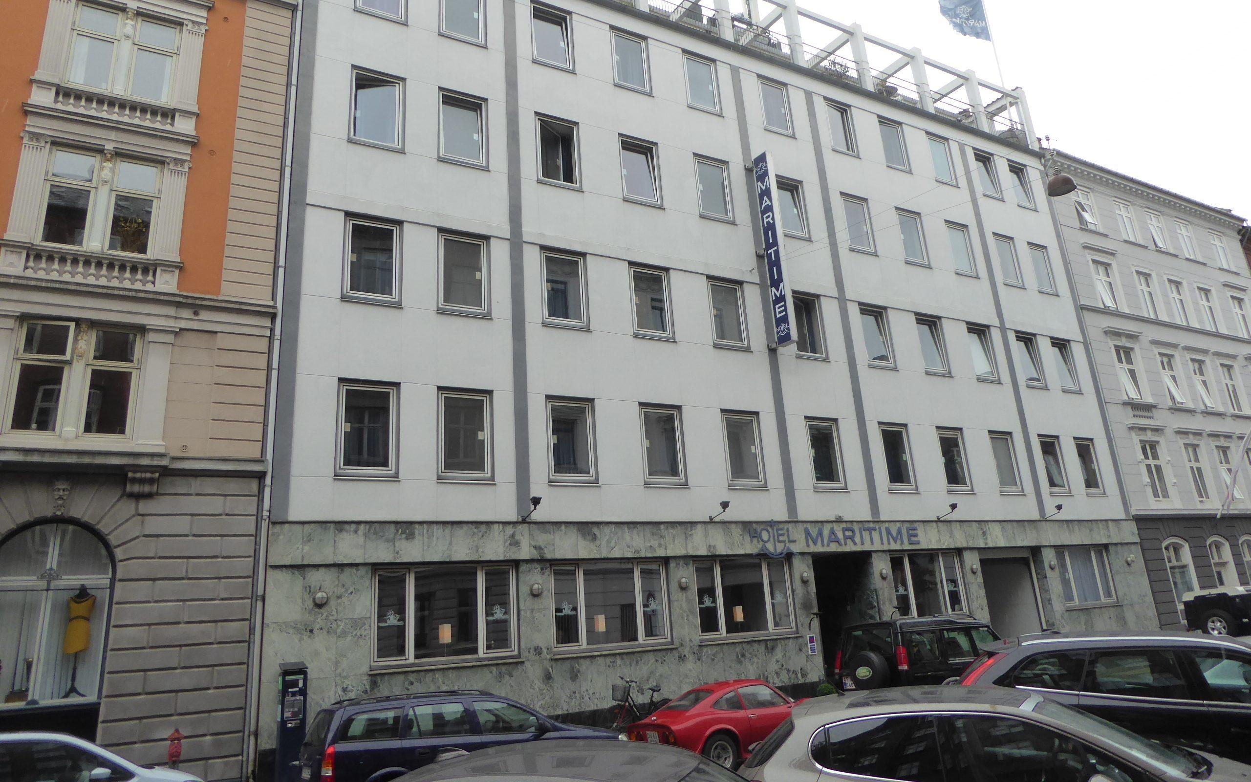 Hotel Maritime, tæt på Kongens Nytorv, har fået ny forpagter og skal renoveres inden det genåbnes. Wikipediafoto: Leif Jørgensen.