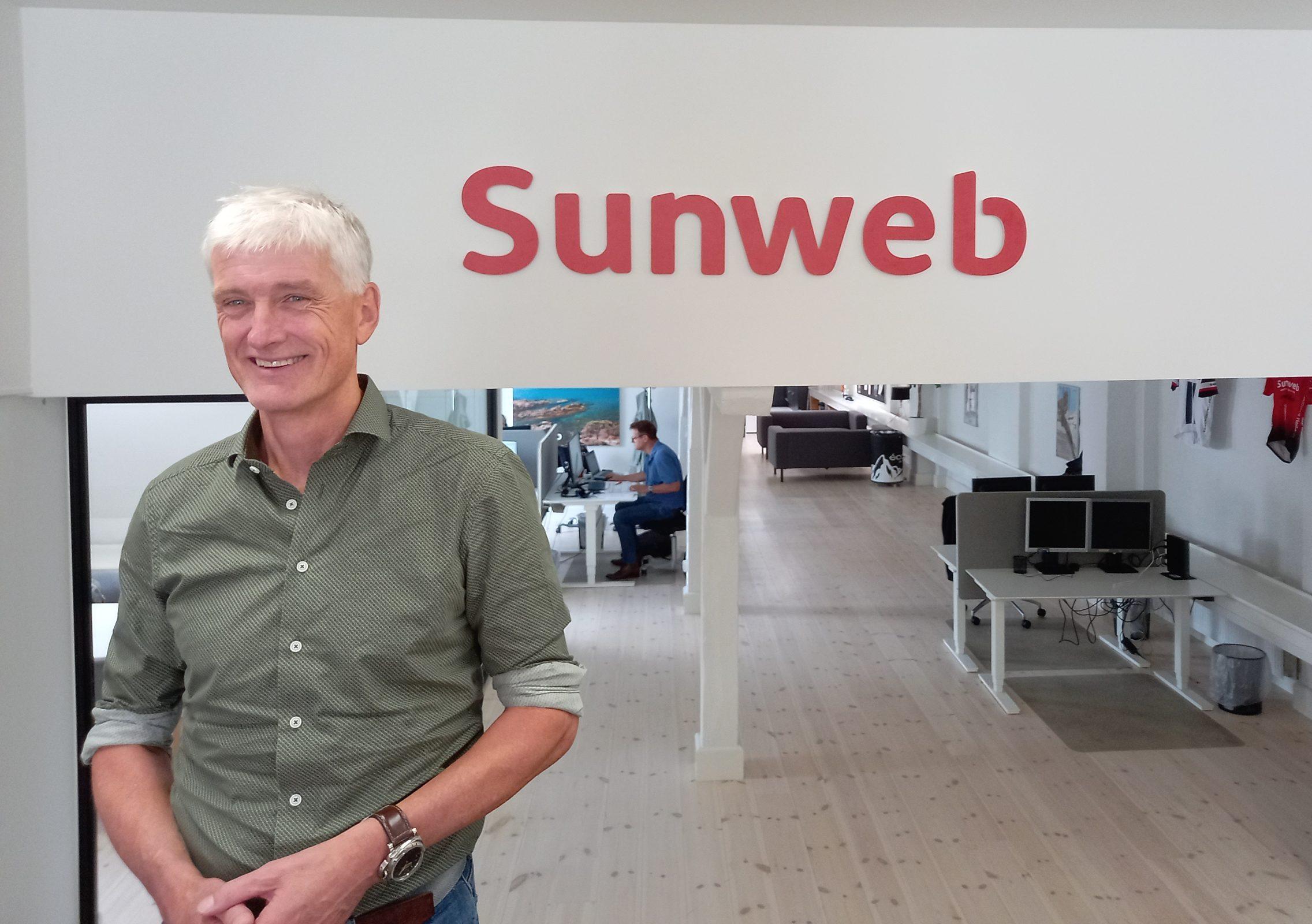 Mattijs Ten Brink blev blandt andet koncernchef for Sunweb Group, der foreløbig er på syv europæiske markeder, for at øge rejsekoncernens ekspansion. Her er han på Sunwebs kontor i København. Foto: Henrik Baumgarten.