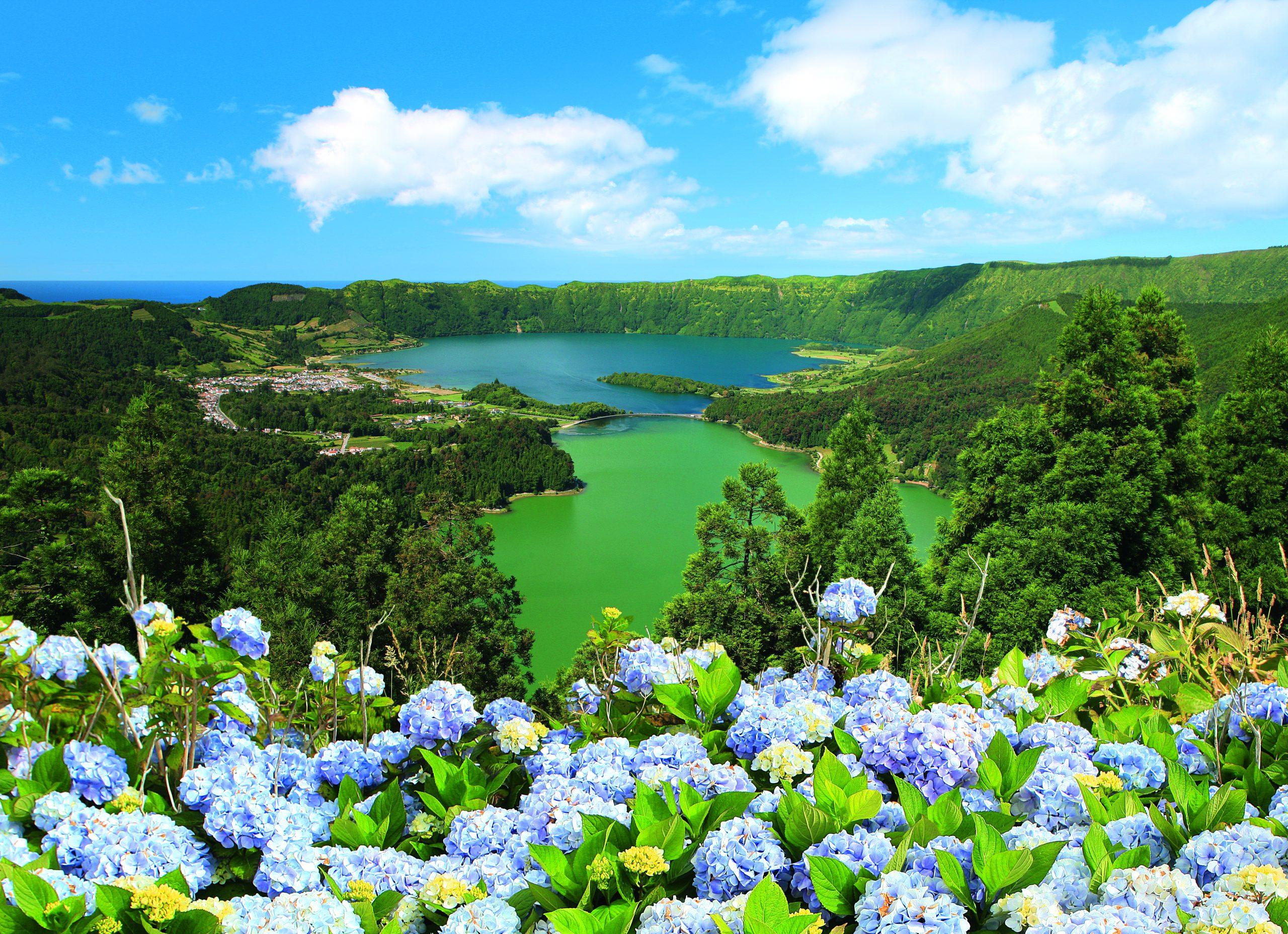 Den portugisiske øgruppe Azorerne bliver igen grøn i de danske rejsevejledninger. Foto Azores Tourism via Portugals Turistbureau (Turismo de Portugal)