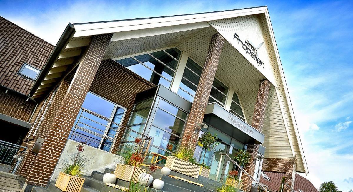SAS Pilot & Navigatør Pensionskasse har solgt Hotel Propellen i Billund. Stedet var oprindeligt et diskotek og dansested, men blev i 1985 omdannet til hotel med i første omgang med 20 værelser. PR-foto.