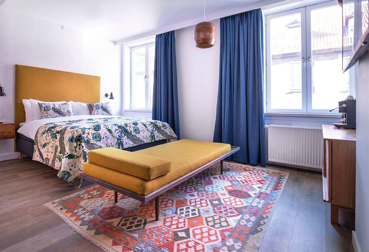 Ejendomsselskabet Pandox har fra næste måned ny operatør af hotel h27, tidligere Hotel Twentyseven, tæt på Rådhuspladsen i København. Det bliver en tysk hotelkæde med foreløbig 77 hoteller i flere europæiske lande. Arkivpressefoto fra h27: Pandox.